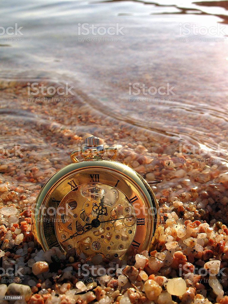 flow of time royalty-free stock photo
