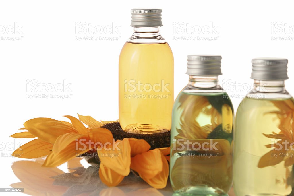 Flower and products stock photo