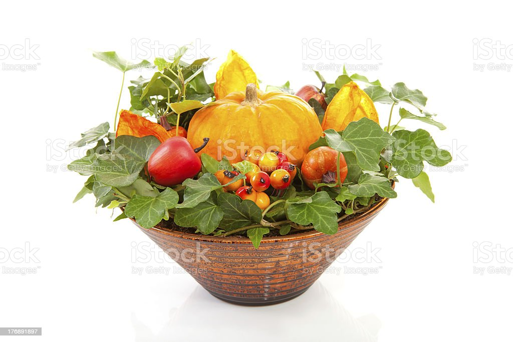 flower arrangement for halloween stock photo