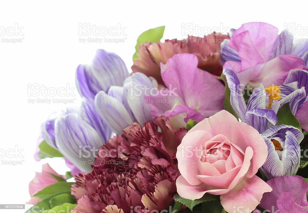 Flower arrangement of the spring royalty-free stock photo