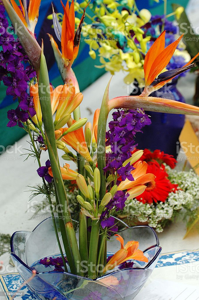 Flower arrangement. royalty-free stock photo