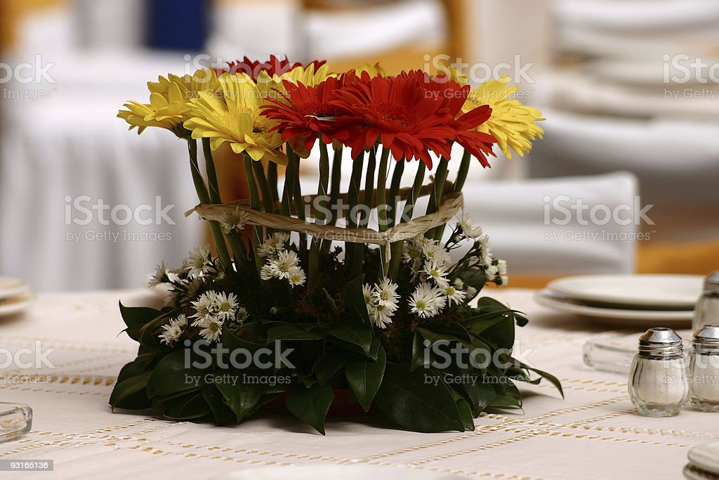 Flower arrangement royalty-free stock photo