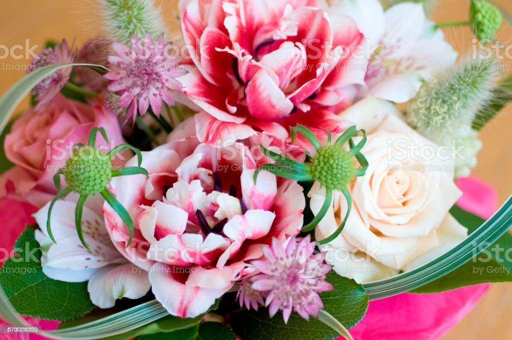 Flower arrangements stock photo