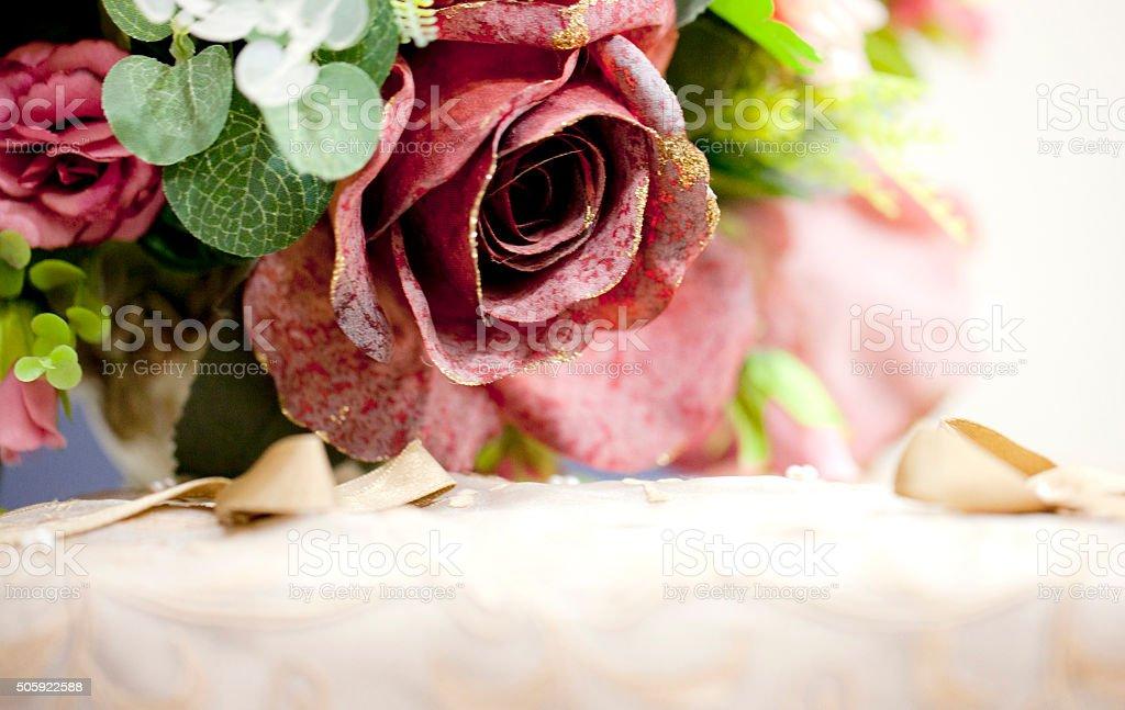 flower bouquet background stock photo