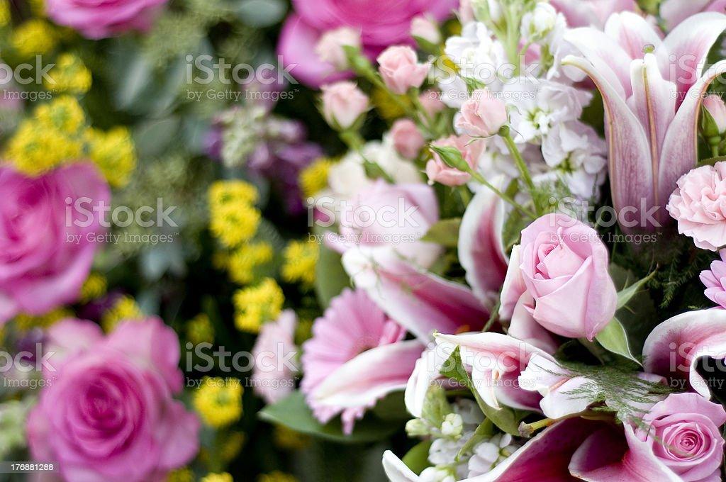 Ramo de flores foto de stock libre de derechos