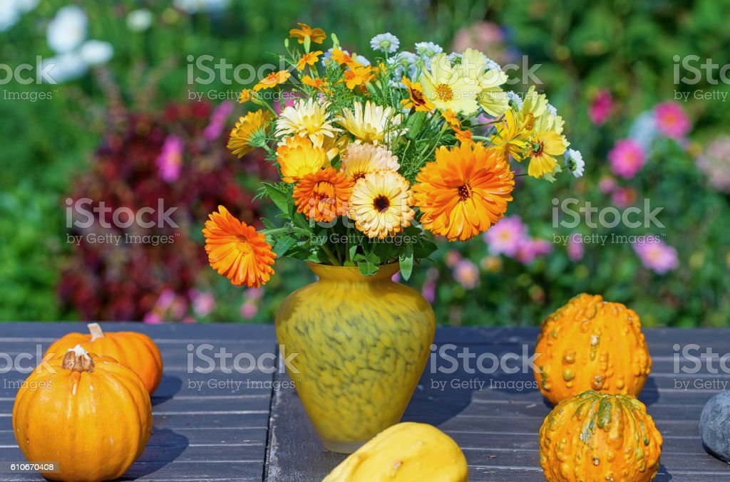 Flower bouquet stock photo