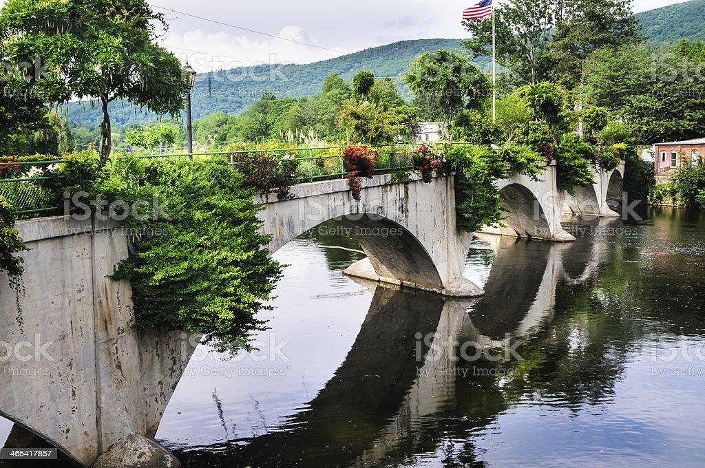Flower Bridge stock photo