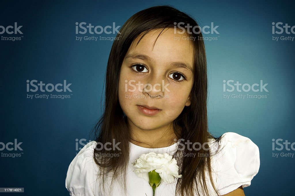 Flower Child stock photo