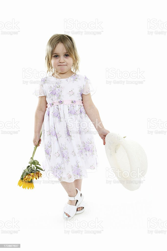 Flower Child royalty-free stock photo