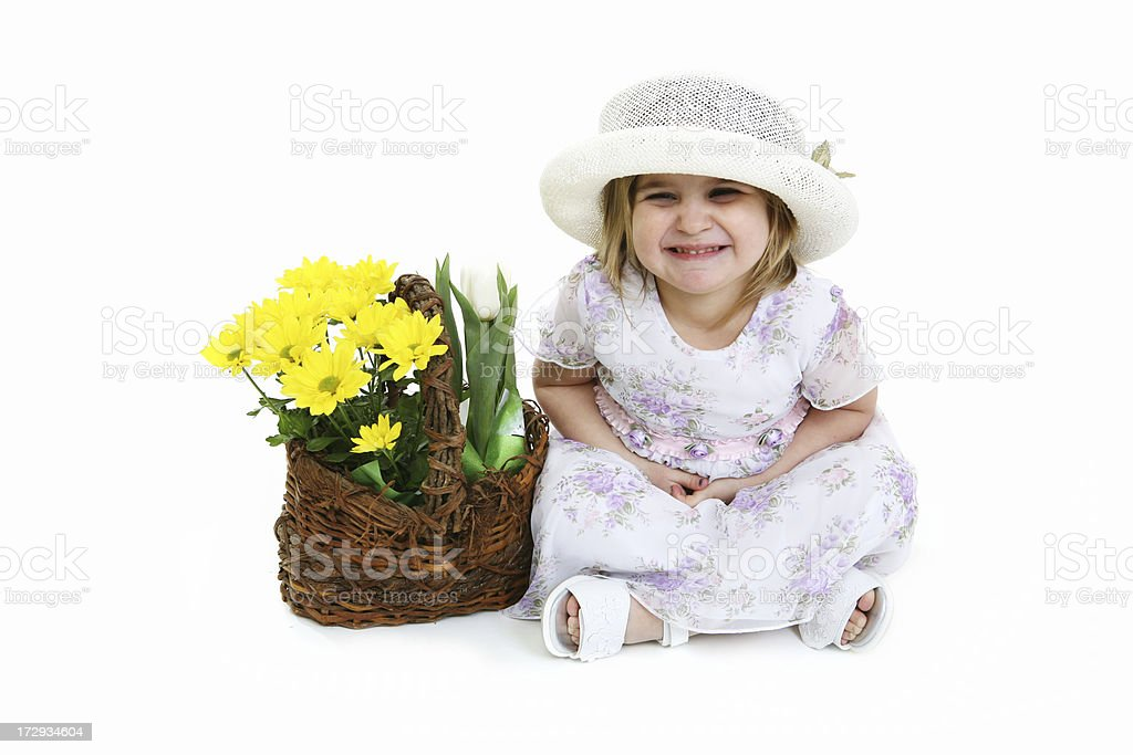 Flower Child royalty-free stock photo