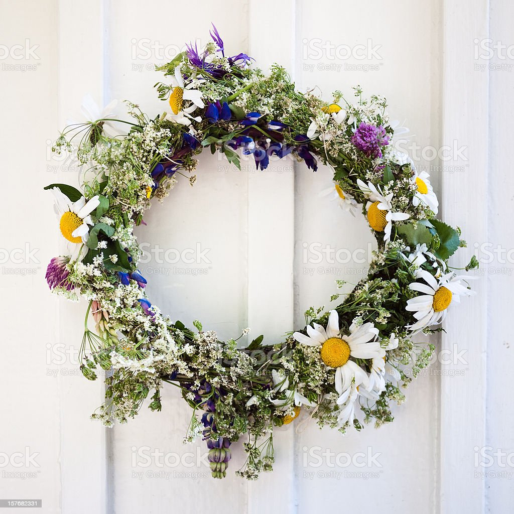 Flower Crown stock photo