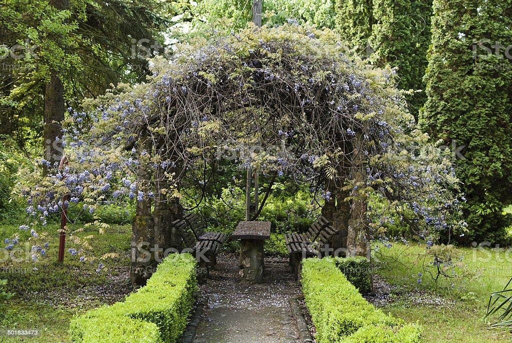 Flower cupola royalty-free stock photo