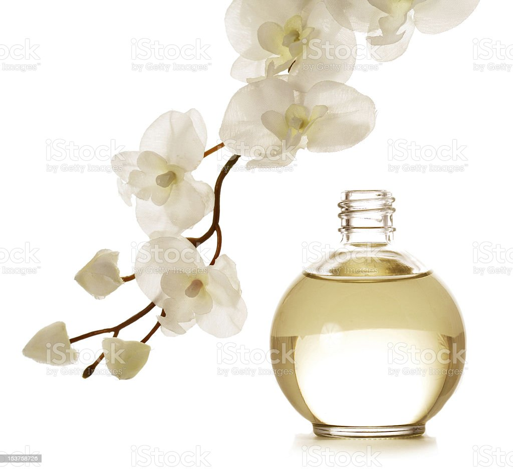 flower essence stock photo