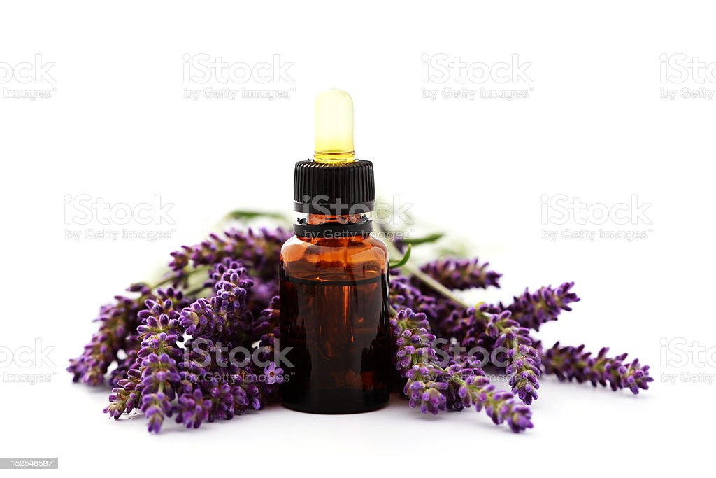 flower essential oil royalty-free stock photo