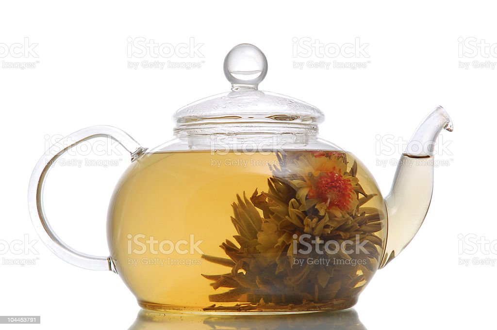 Flower exotic tea royalty-free stock photo