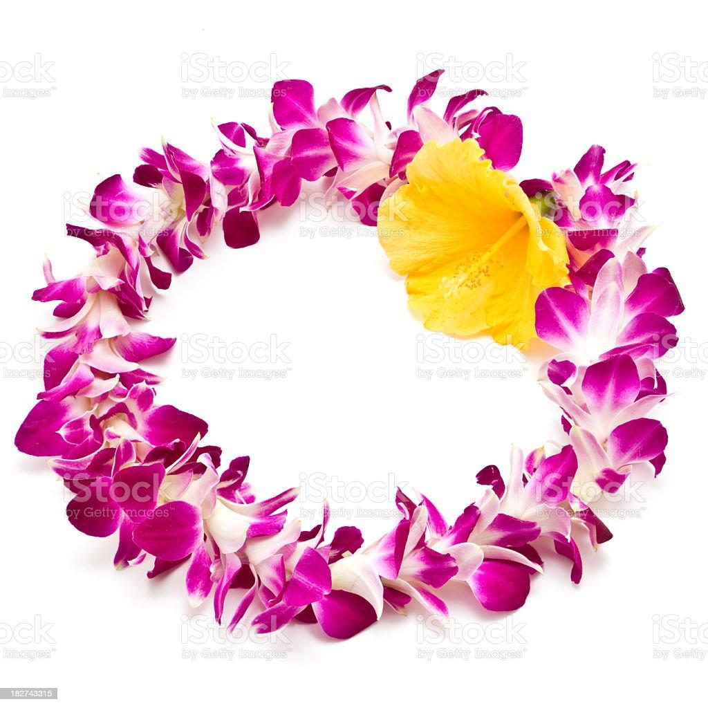 Flower Garland - Lei stock photo