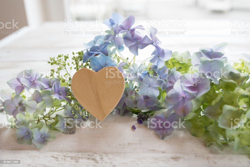 Flower greetings for mothers day stock photo