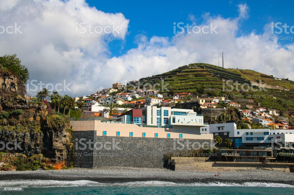 Blumeninsel Madeira stock photo