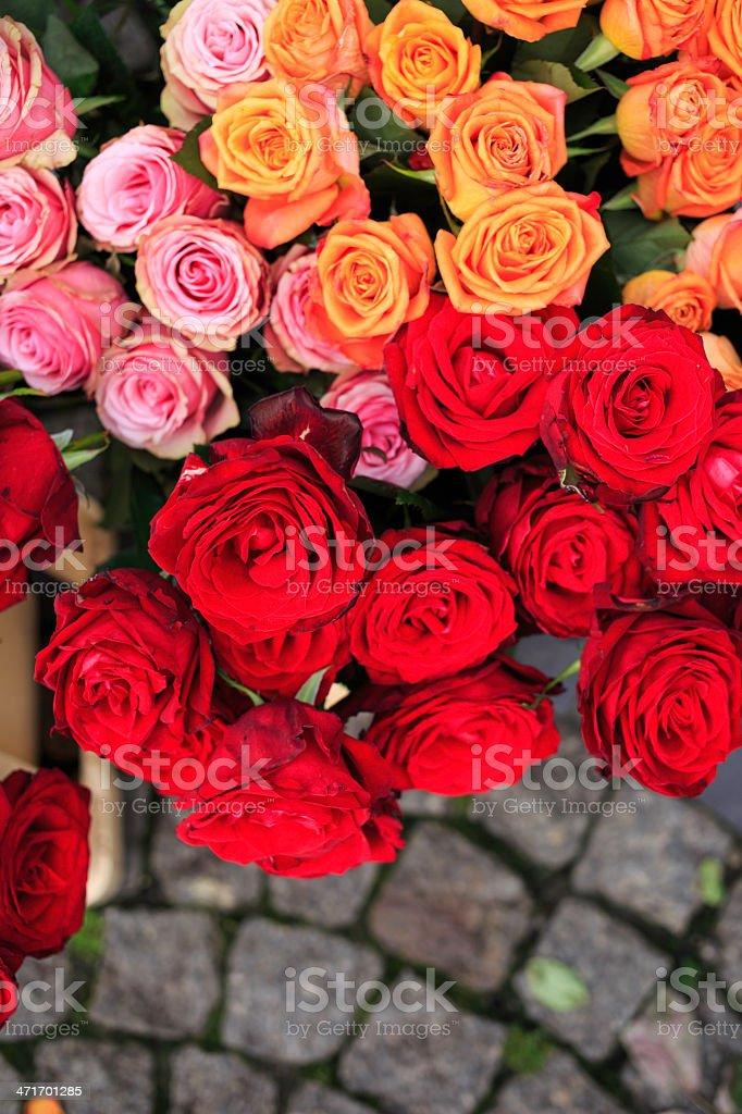 flower market royalty-free stock photo