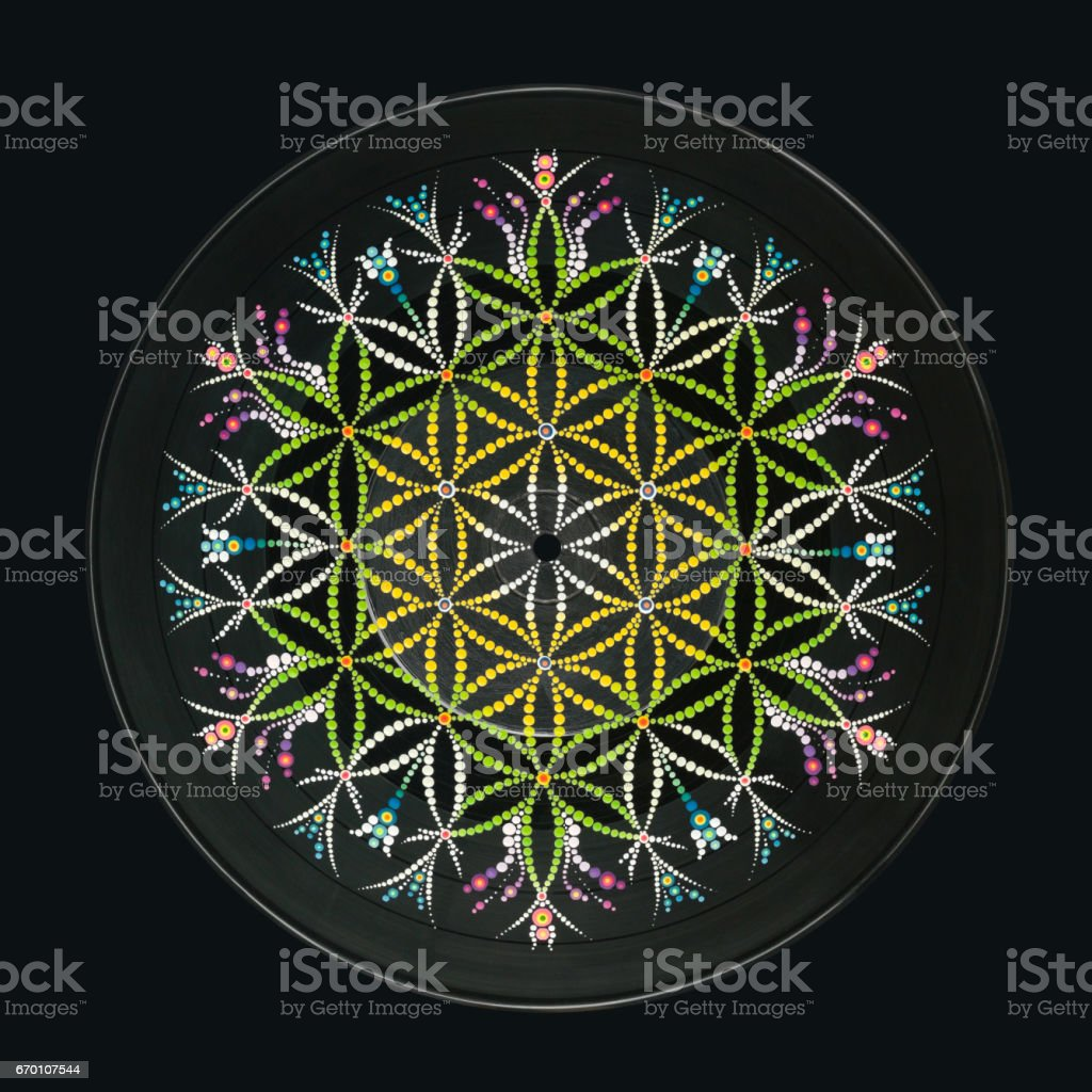 Flower of life stock photo