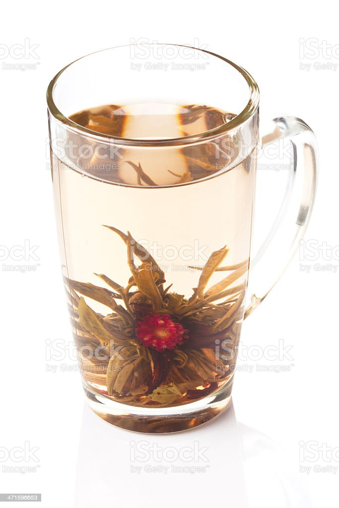 Flower of tea royalty-free stock photo