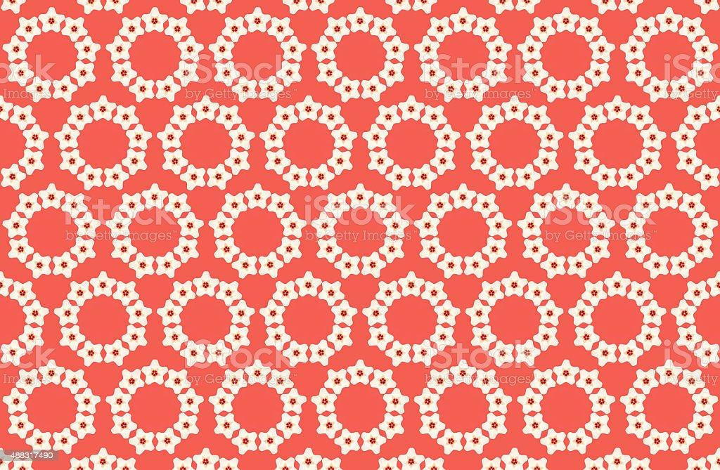 Motif floral photo libre de droits