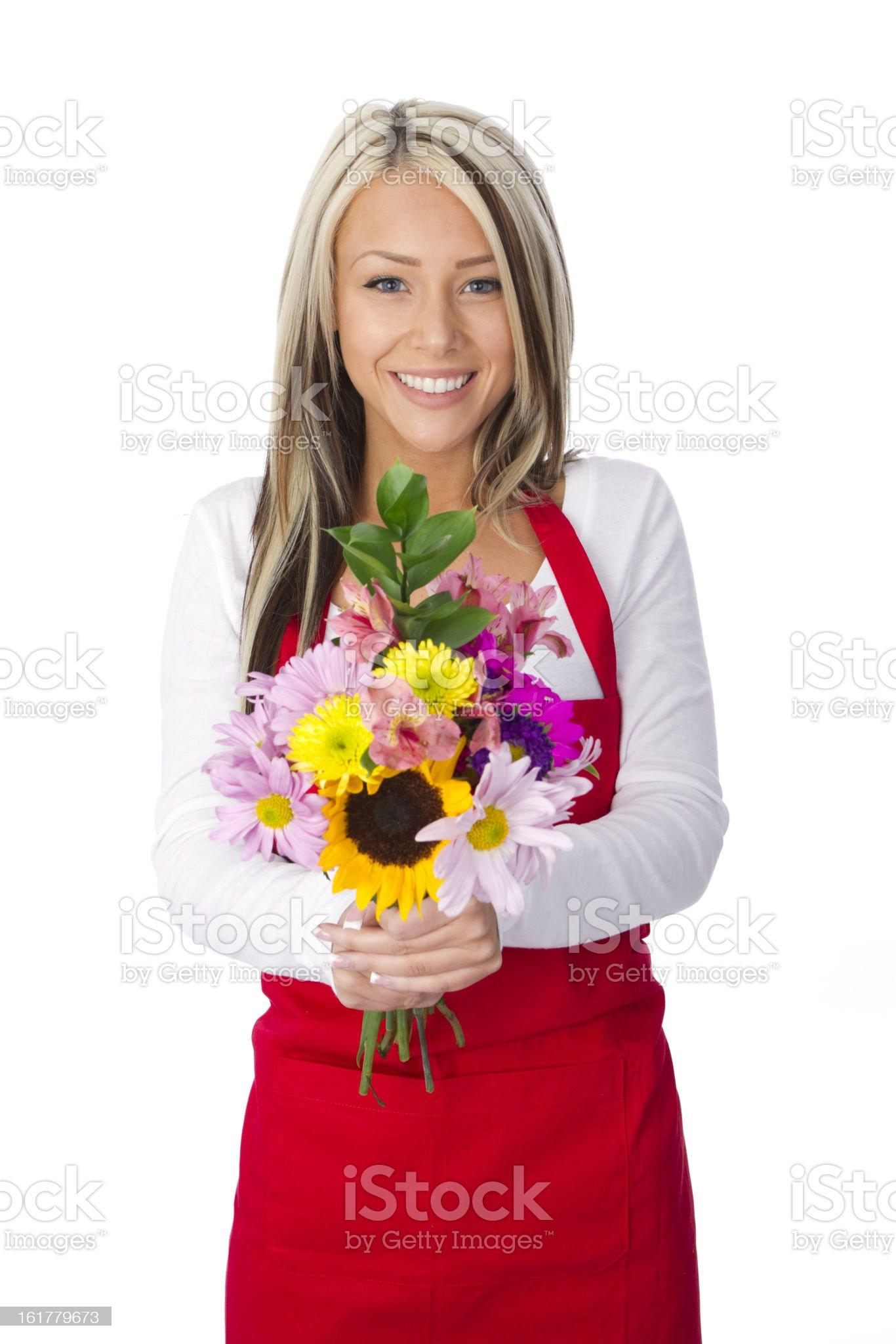 flower shop royalty-free stock photo