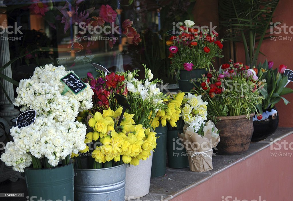 Flower Shop royalty-free stock photo