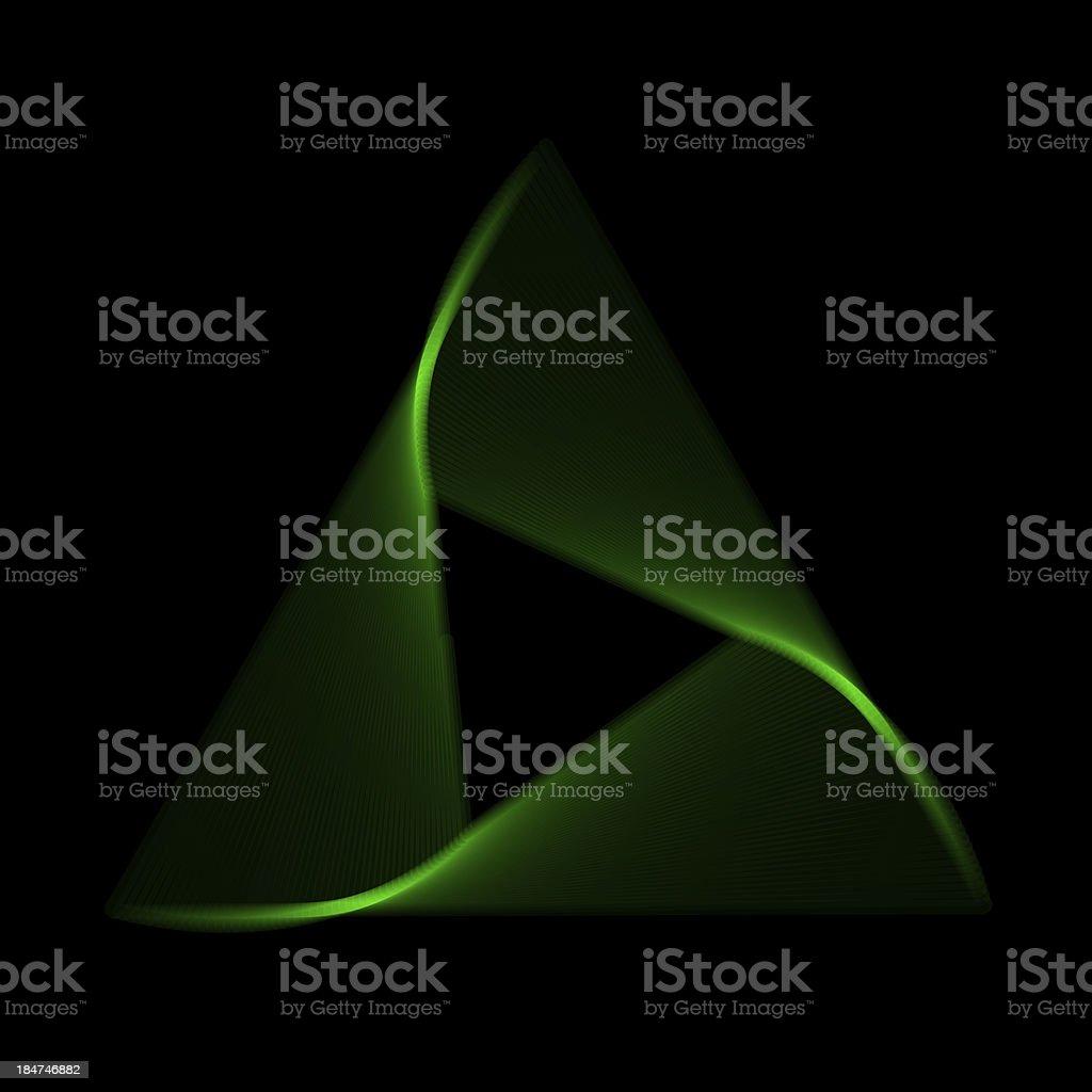 Flower spirograph pendulum photo stock photo