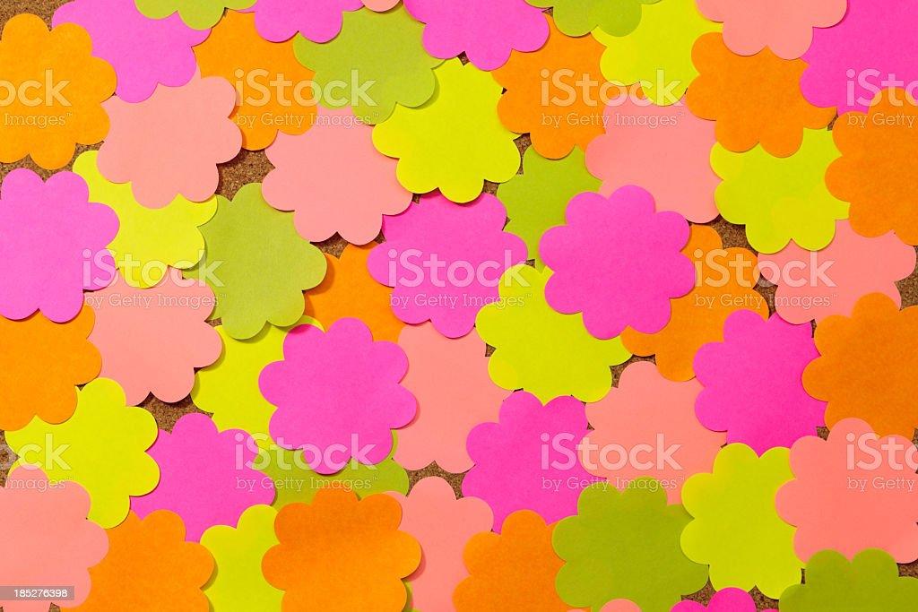 flower sticky royalty-free stock photo