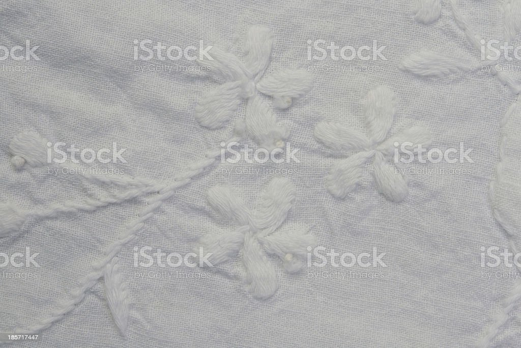 Flower Tablecloth royalty-free stock photo