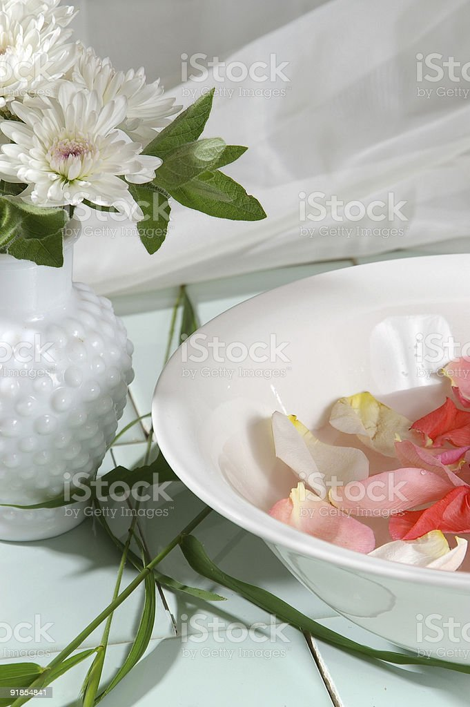 Flower Therapy royalty-free stock photo