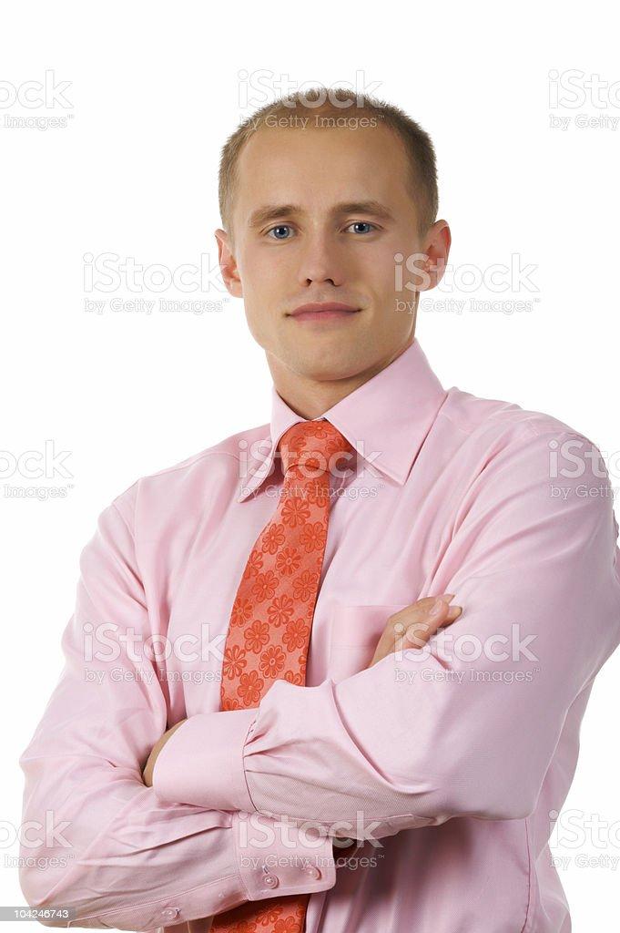 flower tie royalty-free stock photo