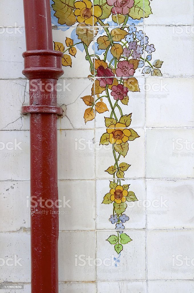 Flower Tiles royalty-free stock photo