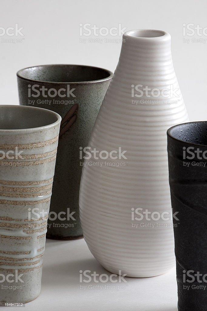 Flower Vases royalty-free stock photo