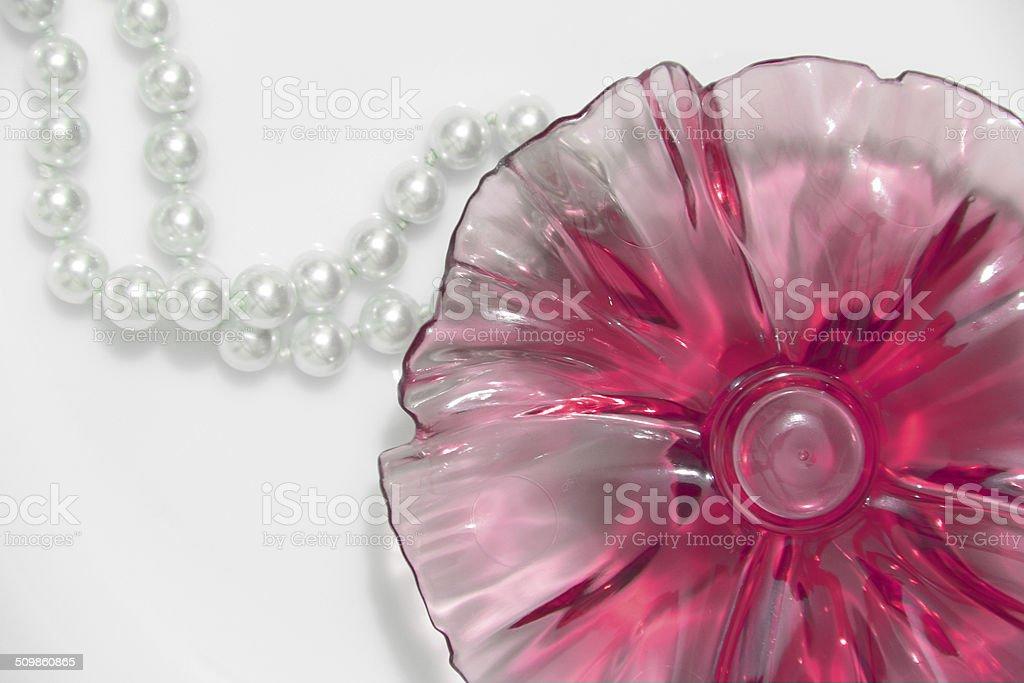 Papier peint fleurs de perles photo libre de droits