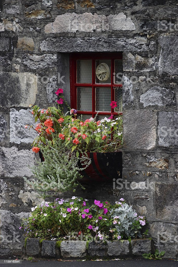 Flowerbox royalty-free stock photo