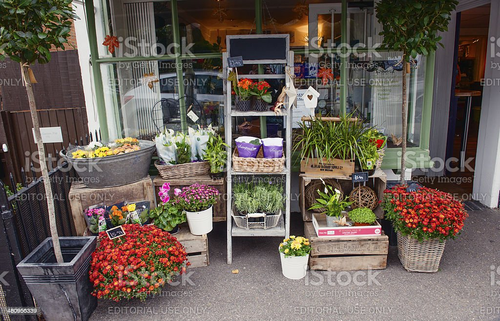 Flowers and Plants for Sale royalty-free stock photo