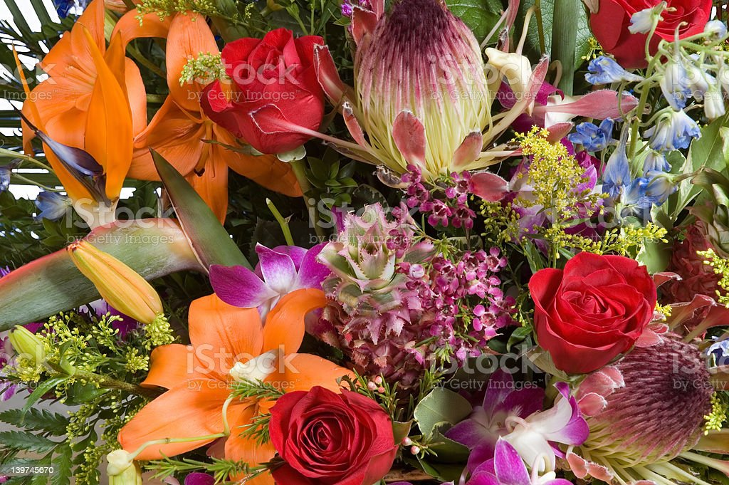 flowers arrangment 1 royalty-free stock photo