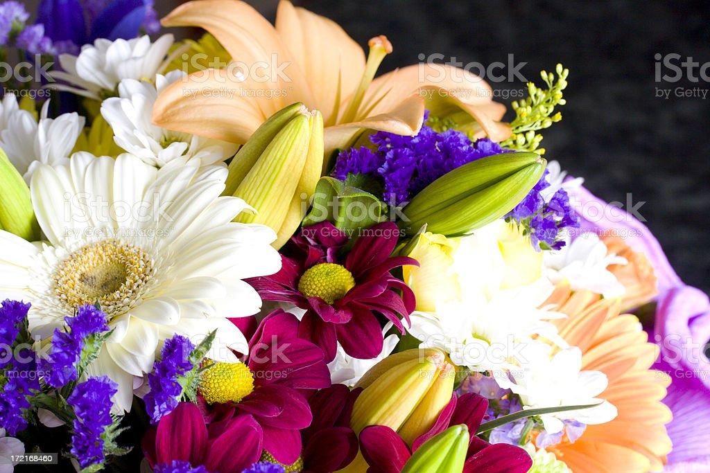 Flowers Background royalty-free stock photo