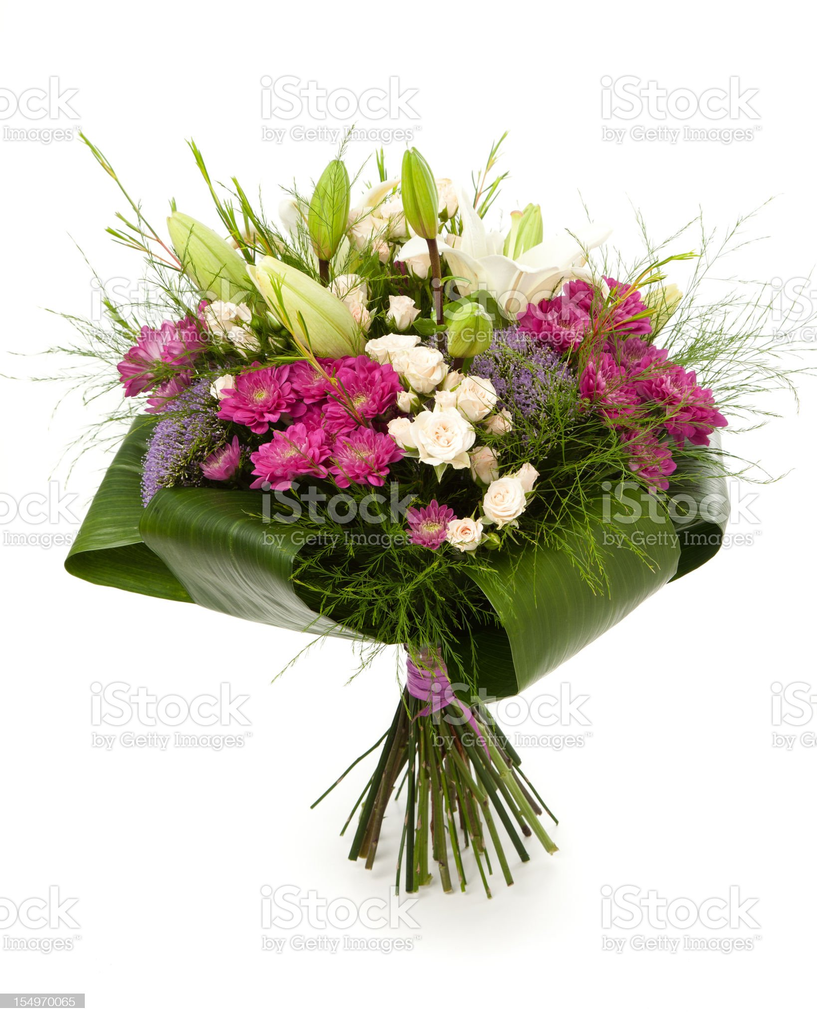 Flowers bouquet royalty-free stock photo