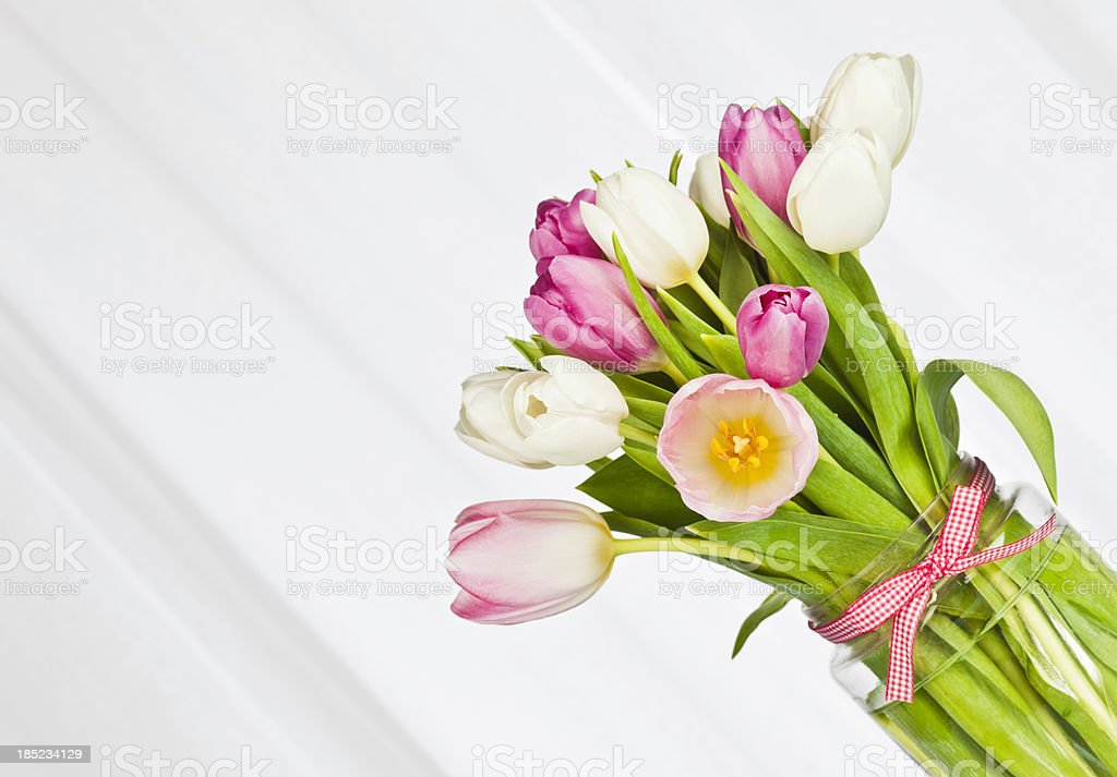 Flowers for Easter or Mother's Day royalty-free stock photo
