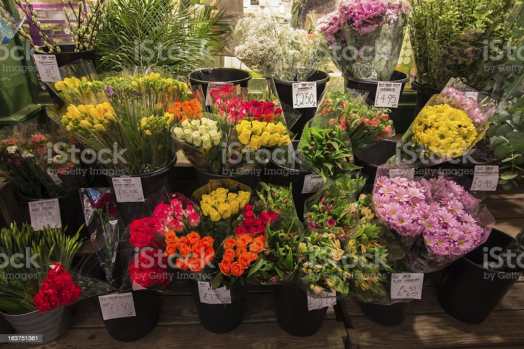 Flowers for Sale royalty-free stock photo