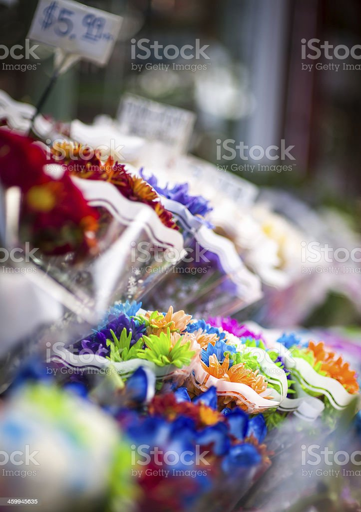 Flowers for Sale stock photo