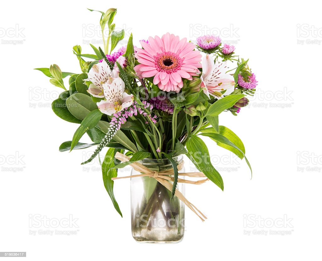 Flowers in Vase- Stock Image stock photo
