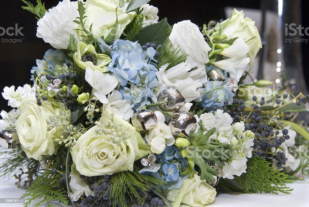 Flowers mix, wedding bouquet royalty-free stock photo