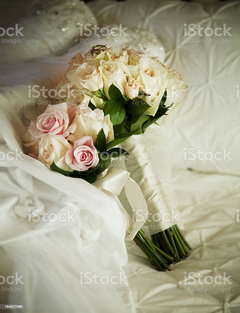 flowers of married royalty-free stock photo