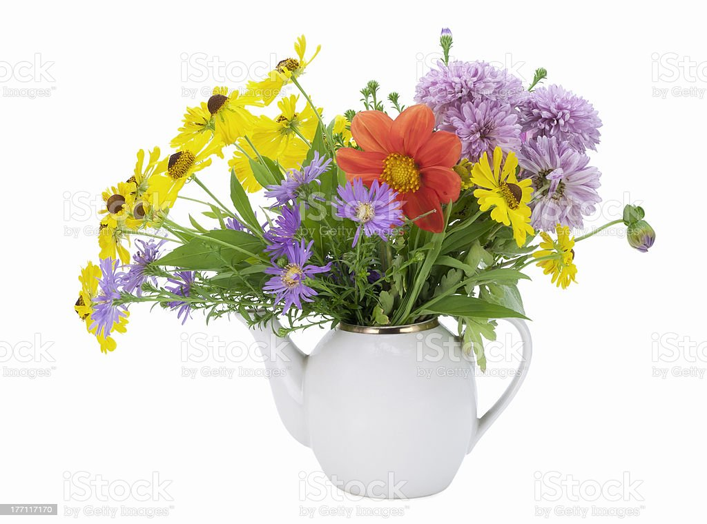 Flowers tea concept royalty-free stock photo