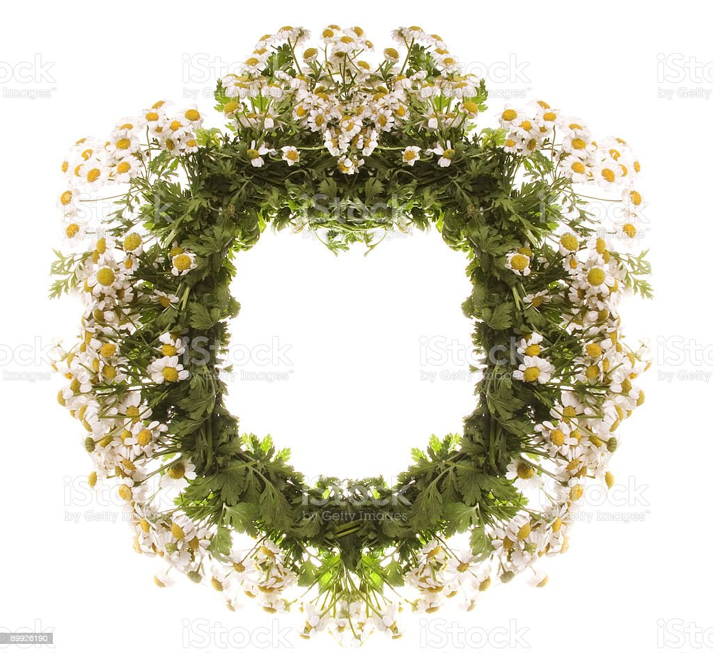 flowers wreaths royalty-free stock photo
