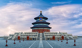 Flowing Clouds Over The Temple of Heaven
